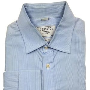 Other - Charles Tyrwhitt Non Iron Slim Fit Shirt 16.5 34 L
